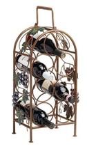 bottle holder, Classic Grapevine 7 Bottle storage standing rustic wine rack - £44.46 GBP