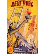 "New York ""The Wonder City"" Magnet #2 - $7.99"