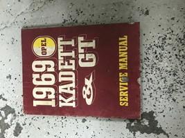 1969 OPEL GT & KADETT Service Shop Repair Workshop Manual Factory OEM - $22.72