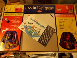 Vintage 1963 Mouse Trap Game from Ideal COMPLETE including Manual - $33.65
