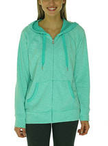 Calvin Klein Performance Women's French Terry Hooded Jacket X-Large Spea... - $51.48