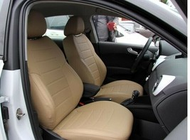 Audi A1 8X Hb 5 doors SEAT COVERS PERFORATED LEATHERETTE  - $173.25