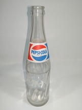 Vintage 1990 Clear Pepsi Bottle From Mexico Date Code 6. 90 355 ml. ETVB - $5.39