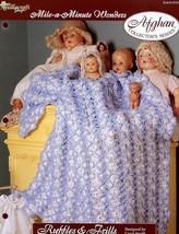 Ruffles & Frills Afghan Mile A Minute Wonders Crochet PATTERN/INSTRUCTIONS New - $2.22