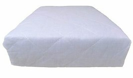 8 X KING SIZE HOTEL QUALITY WHITE DEEP FITTED ANTI ALLERGENIC MATTRESS P... - $74.11