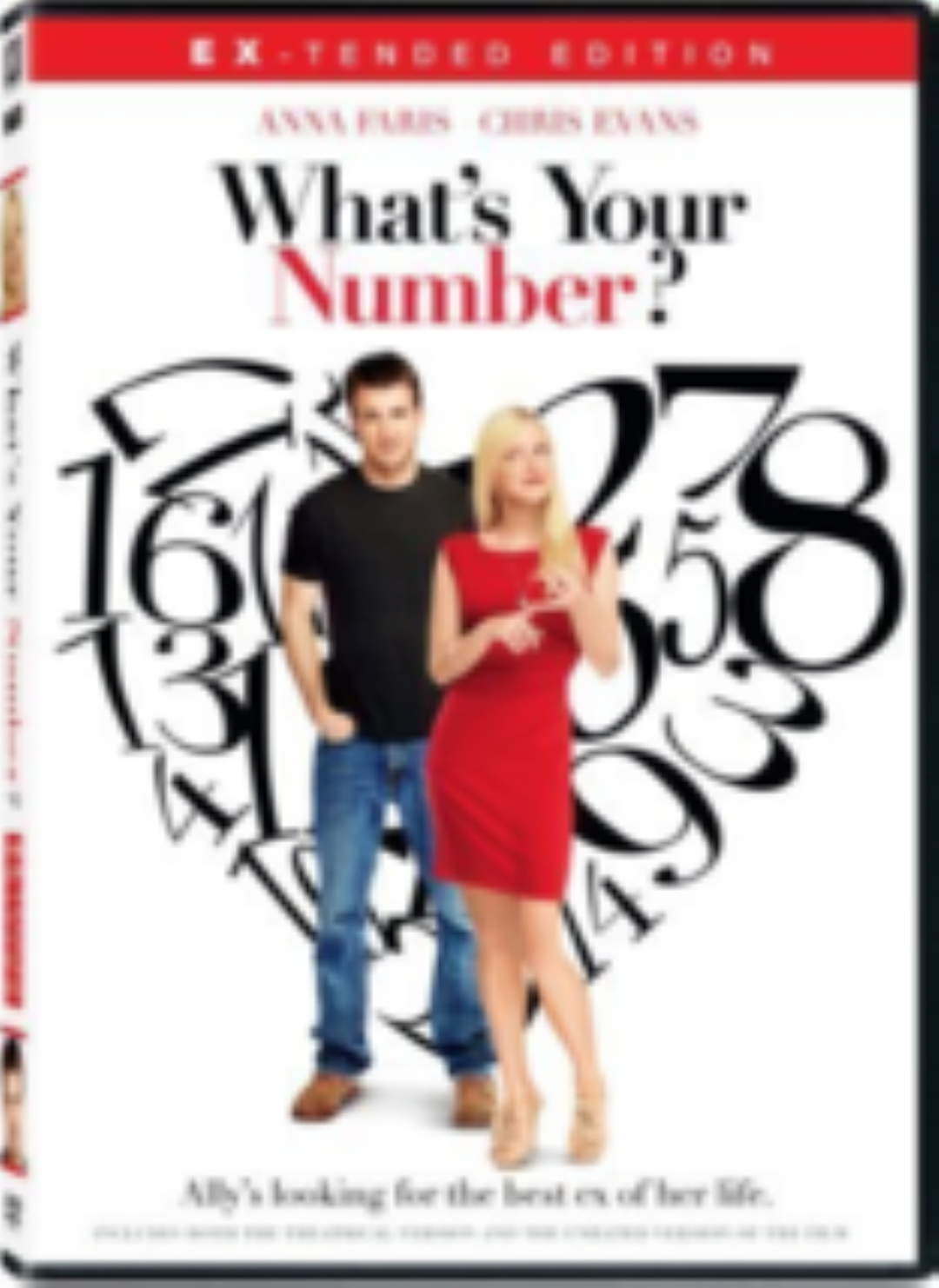 What's Your Number Dvd