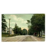 Broad Street East of High School Postcard Mount Holly New Jersey 1920 - $17.80