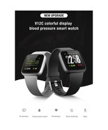 V12C Smart Watch Bracelet Fitness Tracker Blood - $81.98