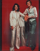 Richard & Karen Carpenter 8x10 color glossy photo - $6.85