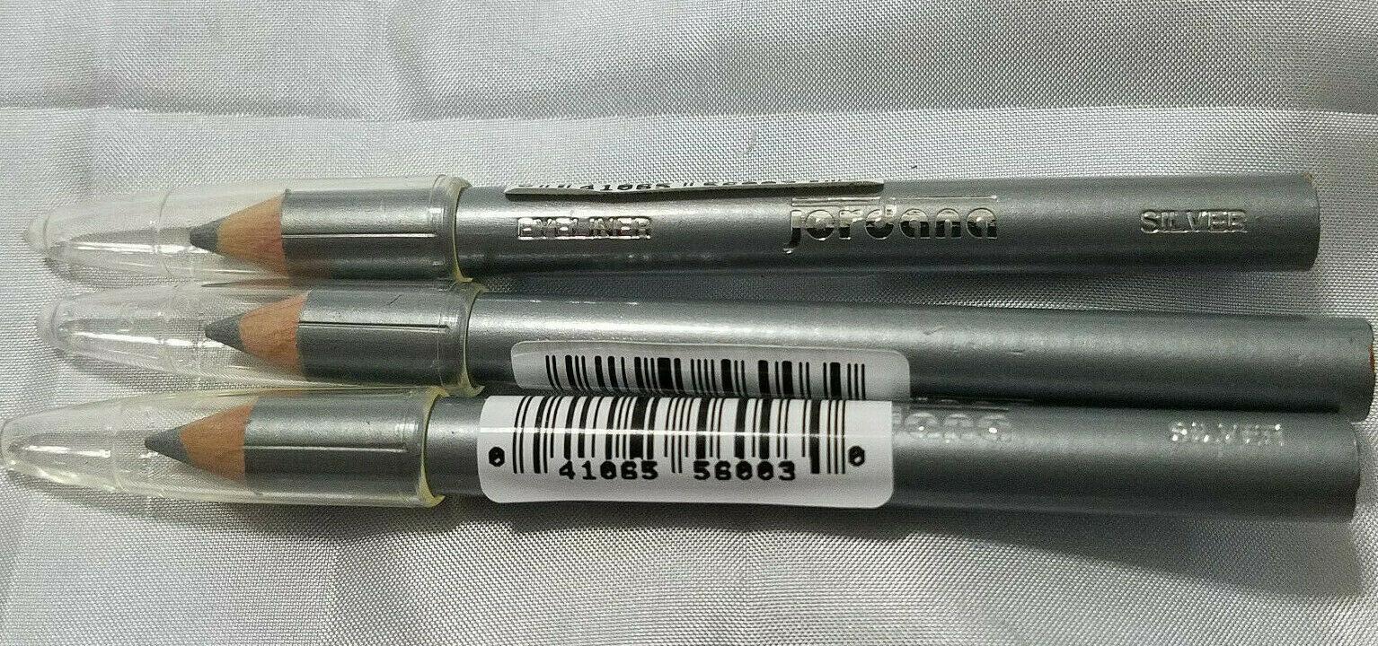 Jordana Silver Eye liner Pencil  Lot Of 3 - $9.89