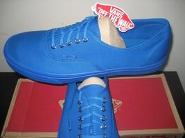 Vans Canvas Authentic Skate Imperial Blue Mens Size shoes Mono Primary 13 Boat wT1q6w7