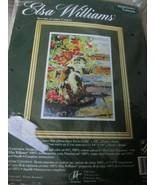 """Elsa Williams Sun Splattered Calico Cat Needlepoint Tapestry Kit 10""""x14"""" #06426 - $75.00"""