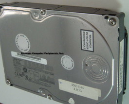 Quantum XC04J011 Atlas V 4GB 3.5in SCSI 80Pin U160 Drive Free USA Ship
