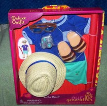 "Our Generation Swimsuit with Pool Noodle Deluxe Outfit for Most 18"" Boy Dolls - $30.88"