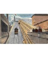 Shooting the Chutes Luna Park Coney Island New York City 1916 postcard - $6.93