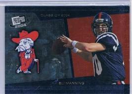 2004 Press Pass SE Class of 2004 #CL1 Eli Manning  - $12.56