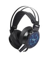 Led Light Wired Gaming Headset Deep Bass Game Earphone Computer Headphon... - $42.49