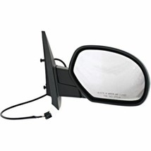 Fits 07-13 Silverado 07-13 Sierra Right Pass Power Mirror Heat Manual Fold - $53.41