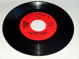 45 RPM Claude King My Baby Home, Your Baby Tonight Columbia Record 45142 VG - £6.56 GBP