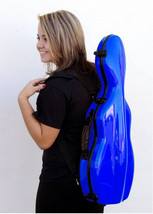 TONARELI Fiberglass Violin 4/4 Full Hard Case NEW - BLUE - $219.00