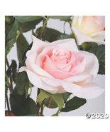 "Vickerman 21"" Artificial Pink Rose Plant in Pot - $39.97"