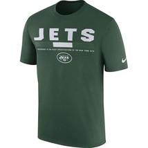 New York Jets Mens Nike Legend Staff DRI-FIT T-Shirt - Size XXL/XL/Large... - $23.74