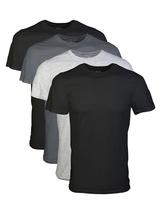 Big Men's 2XL Short Sleeve Crew Assorted Color T-Shirt, 4-Pack - $50.50