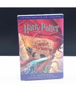HARRY POTTER JK Rowling cassettes audiobook Chamber of Secrets unabridge... - $19.78