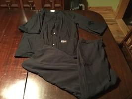 Women's ScrubZone Landau Black Size Small Shirt/Gear Pants Black Small A1 - $12.13