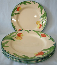 Franciscan Tulip England Dinner Plate Set of 4 - $60.28