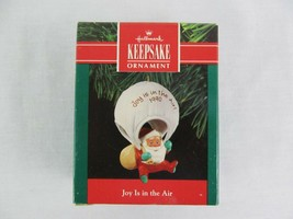 Hallmark Keepsake Ornament Joy Is In The Air 1990 Christmas - $9.89