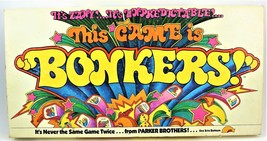 Bonkers Board Game Complete Parker Brothers 1978 - Missing Dice - $22.76