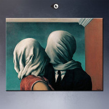 "Rene Magritte ""A stroke of luck"" HD print on canvas large wall picture 3... - $26.72"