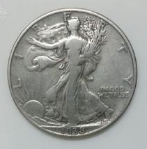 1938D Walking Liberty Half Dollar 90% Silver Coin Lot# E 35