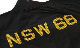 NIKE SPORTSWEAR NSW REVERSIBLE DESTROYER JACKET XS BLACK YELLOW 443877 010 MA-1 image 3
