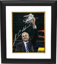 Jim Calhoun signed Connecticut Huskies 8x10 Photo Custom Framed (3X Nati... - $85.00