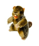 "Vintage Steiff Nagy Beaver Mohair Plush Mini 4"" Swivel Head Stuffed Anim... - $33.00"