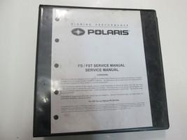 2006 2008 Polaris Fs Fst Iq Snowmobile Service Repair Manual Factory Oem Binder - $69.29