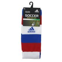 Adidas Metro Hoop Striped Soccer Socks Men's Large 9-13 NEW - $10.23