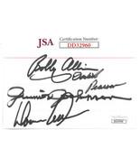 NASCAR Legends Bobby Allison/David Pearson/Junior Johnson/Donnie Allison... - $78.95