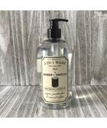 U.S BEARD CO. 3-IN-1 Wash Amber + Vanilla with Coconut Oil 24.5 fl oz - $32.17