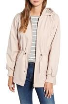 Bernardo Womens Lt Pink Wind Proof Water Resistant Breathable Raincoat Jacket XL image 2