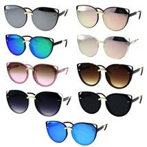 Womens Retro Mod Designer Oversize Plastic Cat Eye Sunglasses - $12.95