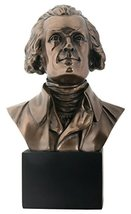 YTC 9 Inch Honorable Thomas Jefferson Presidential Bust Figurine - $34.64