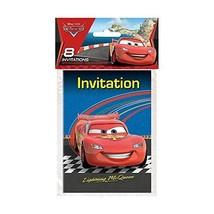 Unique Disney Pixar Cars 2 Party Invitations, 8 Ct. - $5.87