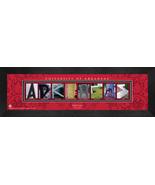 Personalized University of Arkansas Campus Letter Art Framed Print - $39.95