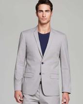 Michael Kors Men's Gray Mini Check 2 Button Sport Coat Suit Jacket Blaze... - $95.99