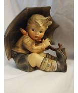 "M.I.HUMMEL 5"" Boy With Umbrella Figurine W. Germany #152/0A - TMK2 and Mint - $371.75"