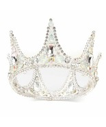 Women Rhinestone Crown Princess Queen Bride Headband Tiara Wedding Headw... - $16.82