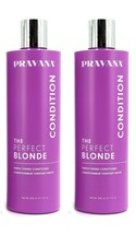 Pravana Perfect Blonde Purple Toning Conditioner 11oz (PACK of 2) NEW PACKAGE!  - $34.95